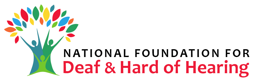 Logo National Foundation for Deaf and Hard of Hearing